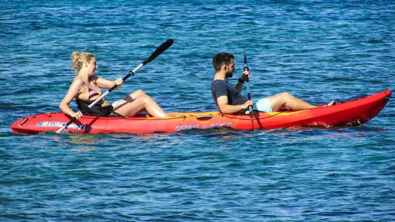 Kayak en Corse